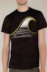 Ditch Plains Black Wave T-Shirt