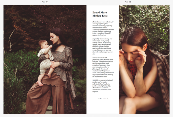 Mother Rose Editorial for Mother Muse Magazine