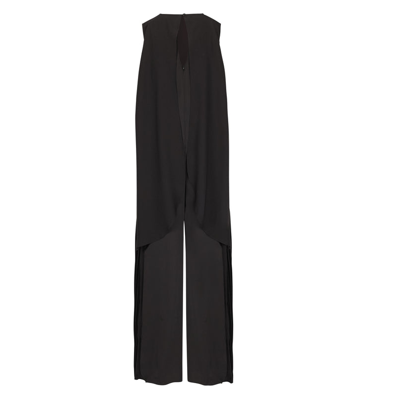 Lego Pleat Jumpsuit - Black