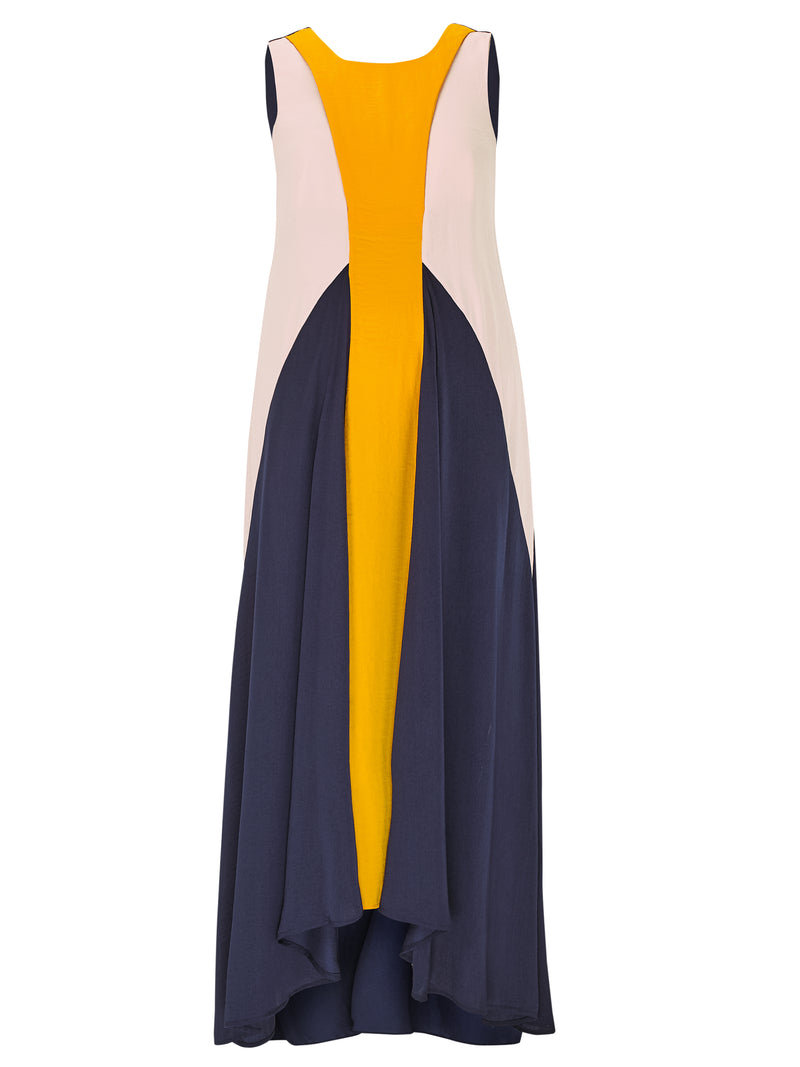 Parachute Dress - Navy