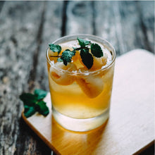 Load image into Gallery viewer, Swanky glass-of-iced-tea-with-mint