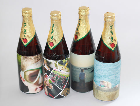 Cider Bottle Cards