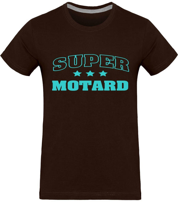 T-shirt Homme SUPER MOTARD 180g - LE PRATIQUE DU MOTARD