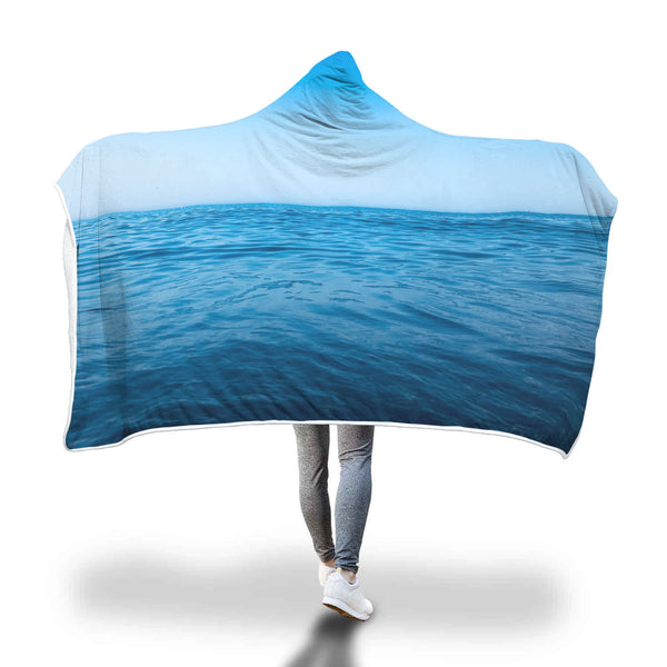 SEA HOODED BLANKET