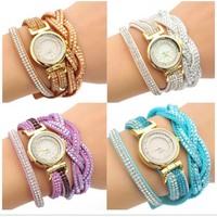Crystal Wrap Quartz Watch (Ships from USA)