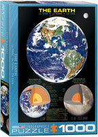 The Earth, 1000 Piece Jigsaw Puzzle, Space, Science