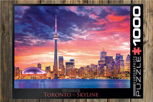 New Toronto Canada Skyline Puzzle Jigsaw Puzzle 1000 Pieces CN Tower Puzzles Great for Adults