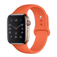 Strap Belt Bracelet Correa for Apple Watch Band 5 4 3 2 Accessories Sport Silicone 38mm 42mm Iwatch 4 44mm 40mm Watchbands