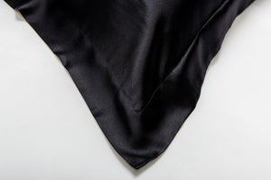 black pillowcase pair