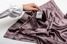 Load image into Gallery viewer, oxford silk pillowcase: heather