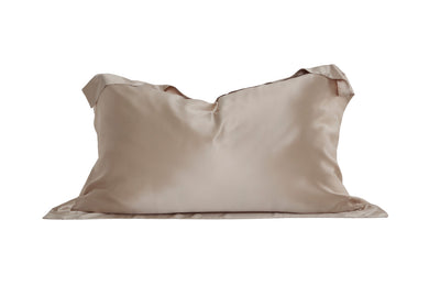 Oxford Mulberry Silk Pillowcase: Caramel - Artem Luxe