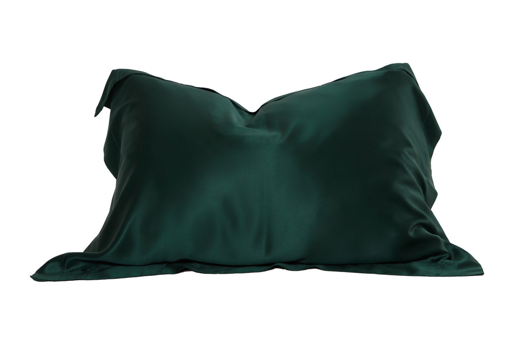 Oxford Mulberry Silk Pillowcase: Emerald - Artem Luxe