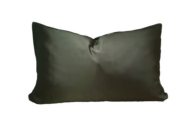Safari Green Mulberry Silk Pillowcase - Artem Luxe