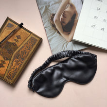 Load image into Gallery viewer, Mulberry Silk Sleep Mask Grey - preorder - Artem Luxe