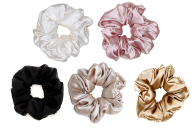 Oversized Mulberry Silk Scrunchie - Artem Luxe