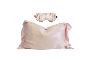Mulberry Silk Sleep Set: Rose - Artem Luxe