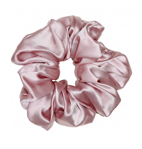 Mulberry Silk Large Scrunchie Pink