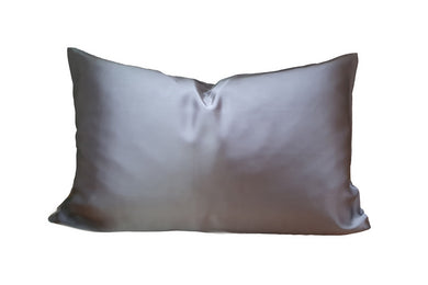 Artem Luxe Grey Silk Pillowcase 19mm 100% mulberry silk