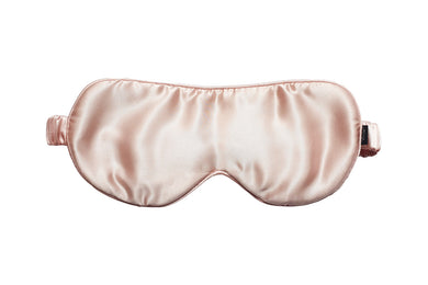 Mulberry Silk Sleep Mask Pink Rose - Artem Luxe