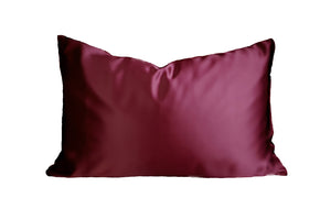 Wine Mulberry Silk Pillowcase - Artem Luxe
