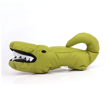 Load image into Gallery viewer, Beco Pets Aretha The Alligator Soft Dog Toy