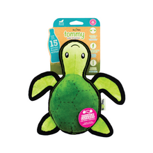 Load image into Gallery viewer, Beco Pets Tommy The Turtle Rough Dog Toy