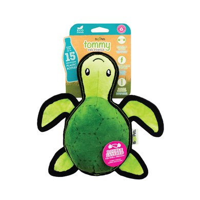 Beco Pets Tommy The Turtle Rough Dog Toy