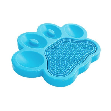 Blue Paw Pad 2 in 1 Slow Feeder