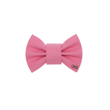 Load image into Gallery viewer, Funky Dog Large Pink Bow Tie