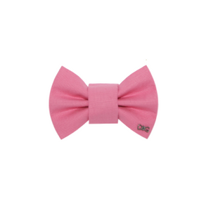 Funky Dog Large Pink Bow Tie