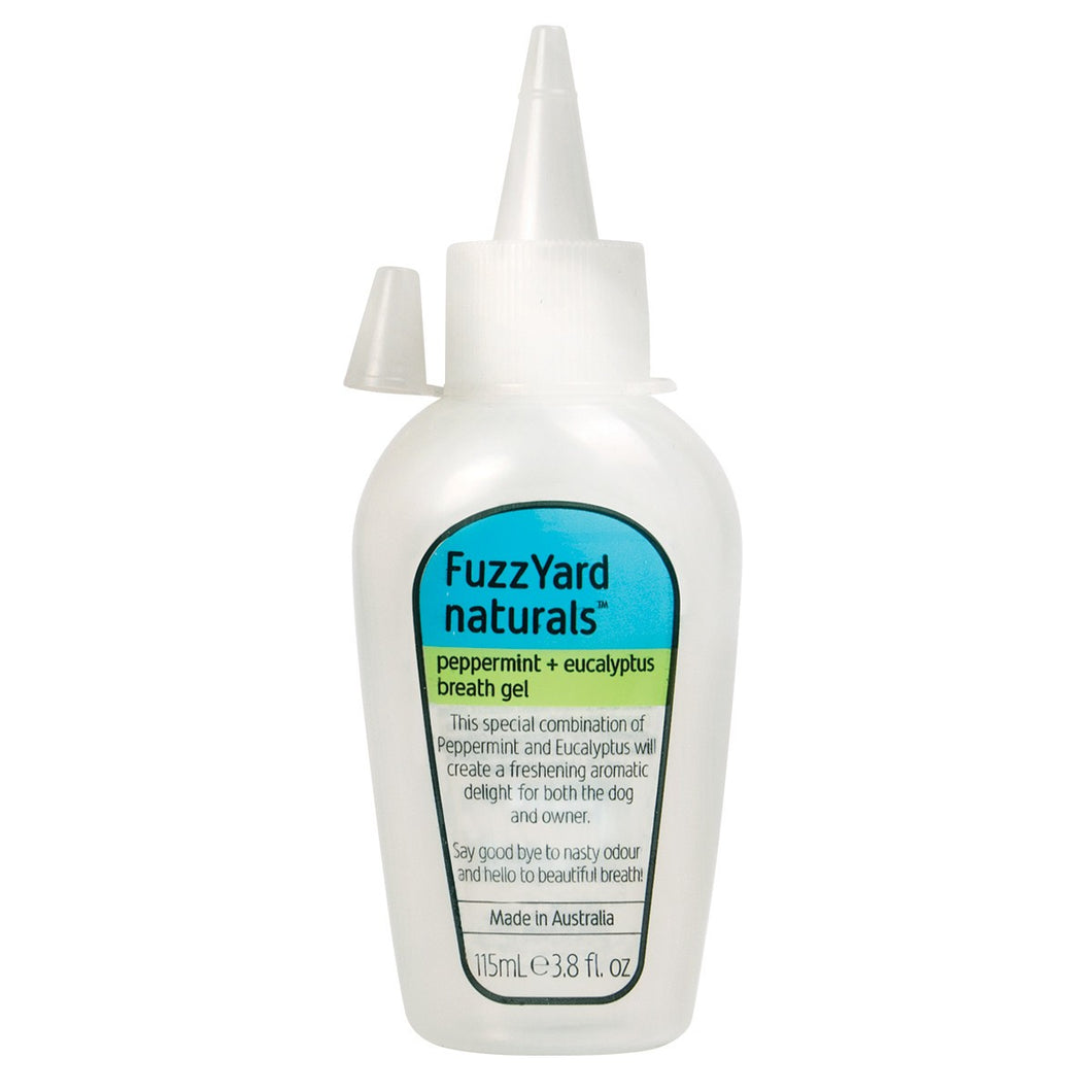 FuzzYard Naturals Peppermint and Eucalyptus Dog Breath Gel