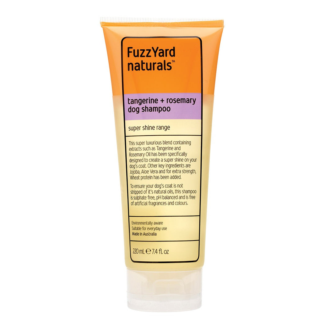 FuzzYard Naturals Tangerine and Rosemary Dog Shampoo