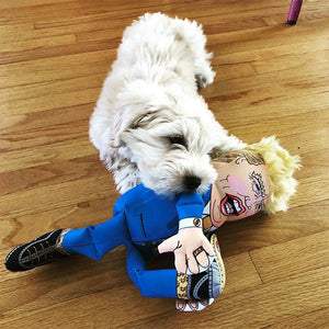 Fuzzu Donald Trump Plushy Dog Toy