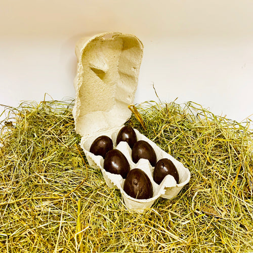 Peanut Butter Filled Mini Dog Easter Eggs