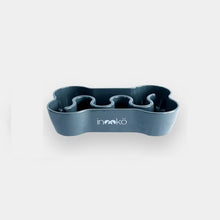 Load image into Gallery viewer, Inooko Grey Bone Slow Feeder Dog Bowl