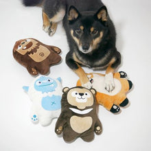 Load image into Gallery viewer, Inooko Mountain Folk Max The Bear Dog Toy