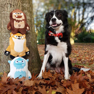 Inooko Mountain Folk Ollie The Yeti Dog Toy