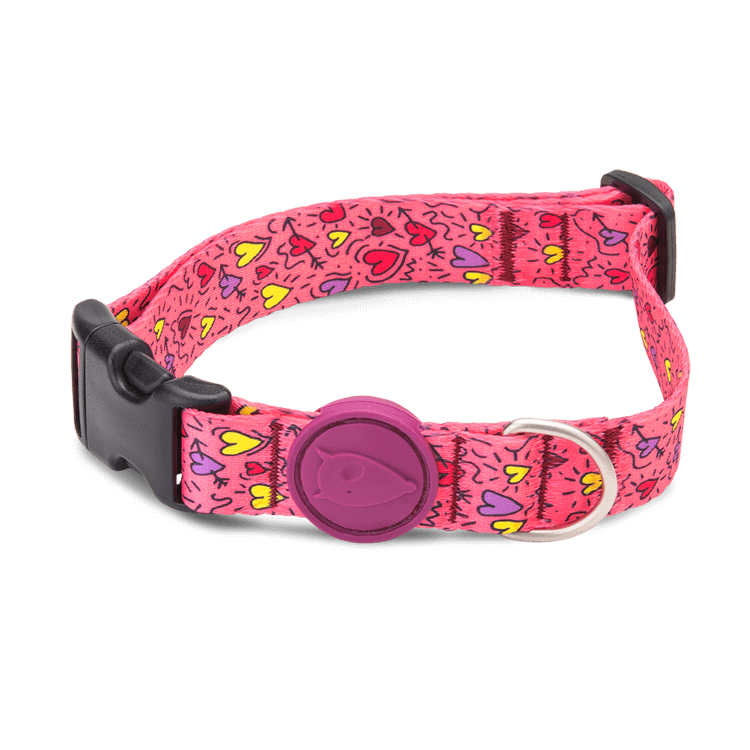 Morso Think Pink Dog Collar
