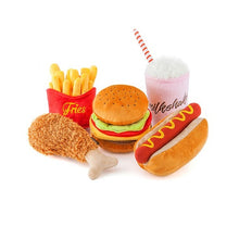 Load image into Gallery viewer, P.L.A.Y. American Burger Dog Toy