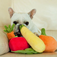 Load image into Gallery viewer, P.L.A.Y. Garden Fresh Courgette Dog Toy
