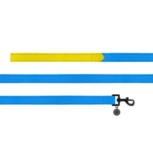 Sotnos Colour Block Yellow & Blue Dog Lead