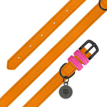 Load image into Gallery viewer, Sotnos Colour Block Orange & Pink Collar