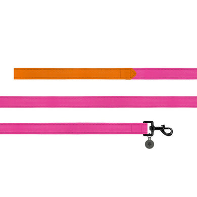 Sotnos Colour Block Orange & Pink Dog Lead