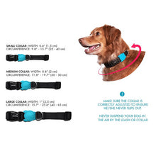 Load image into Gallery viewer, Zee Dog Black Root Collar