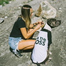Load image into Gallery viewer, Zee Dog I'm The Boss Dog T-Shirt