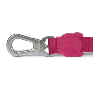 Zee Dog Pink-a-Boo Dog Lead