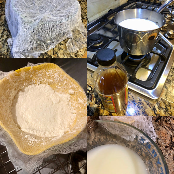 The Art of Easy Cheesemaking: Curds and Whey