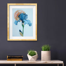 Load image into Gallery viewer, Art Nouveau Iris Print by Artist RH Zondag.  Add beauty to your home with this affordable print.  Ships unframed.