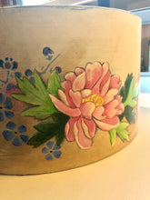 Load image into Gallery viewer, Vintage Hat Box - Up Cycled with Original Artwork