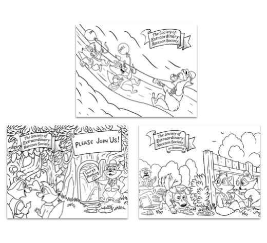 Free Coloring Sheets from The Slugs & Bugs SOERS Books